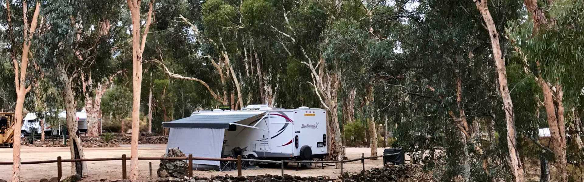 Kui Parks, Toodyay Holiday Park & Chalets, Sites