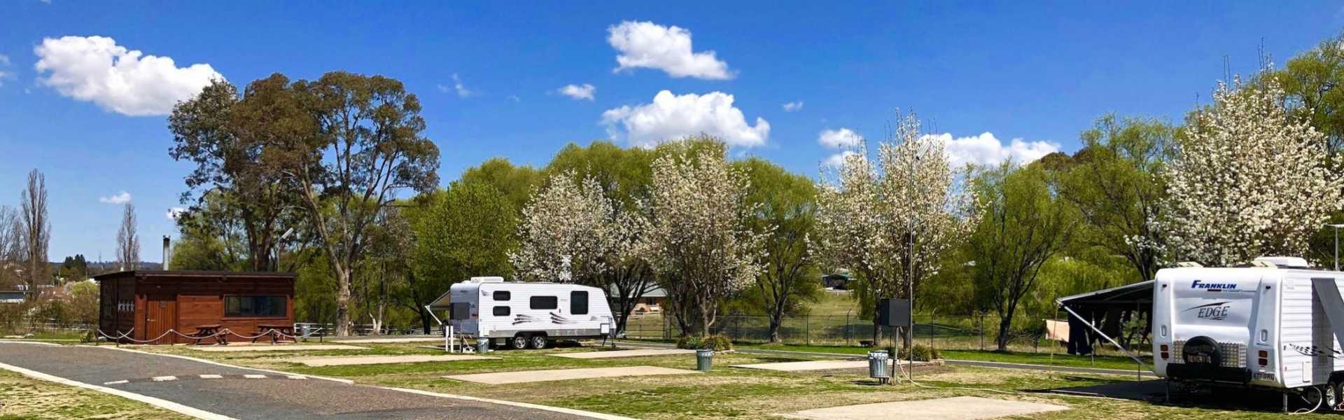Walcha Caravan Park, Kui Parks, Walcha, Sites