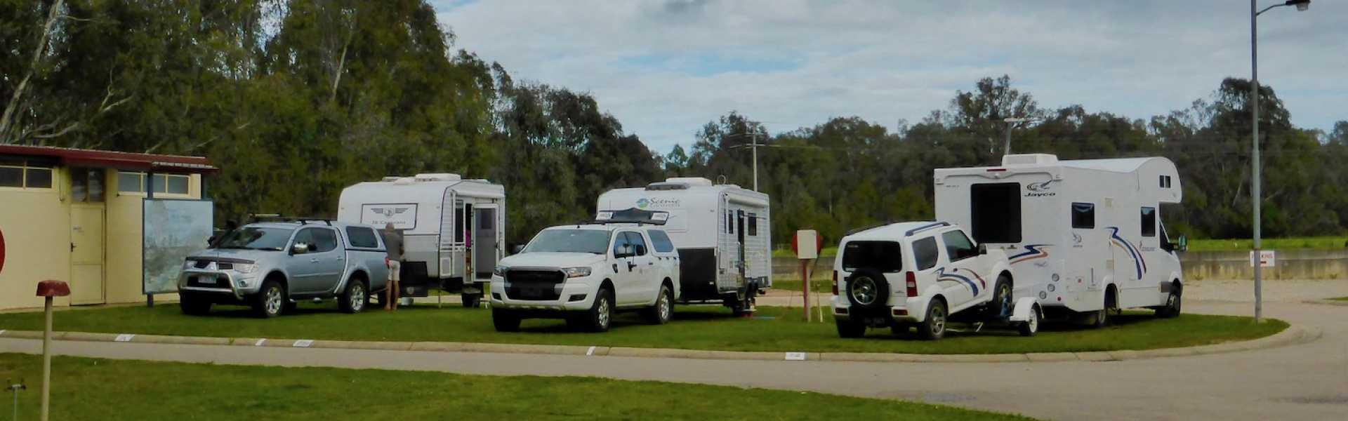 Kui Parks, Wangaratta Caravan Park, Sites