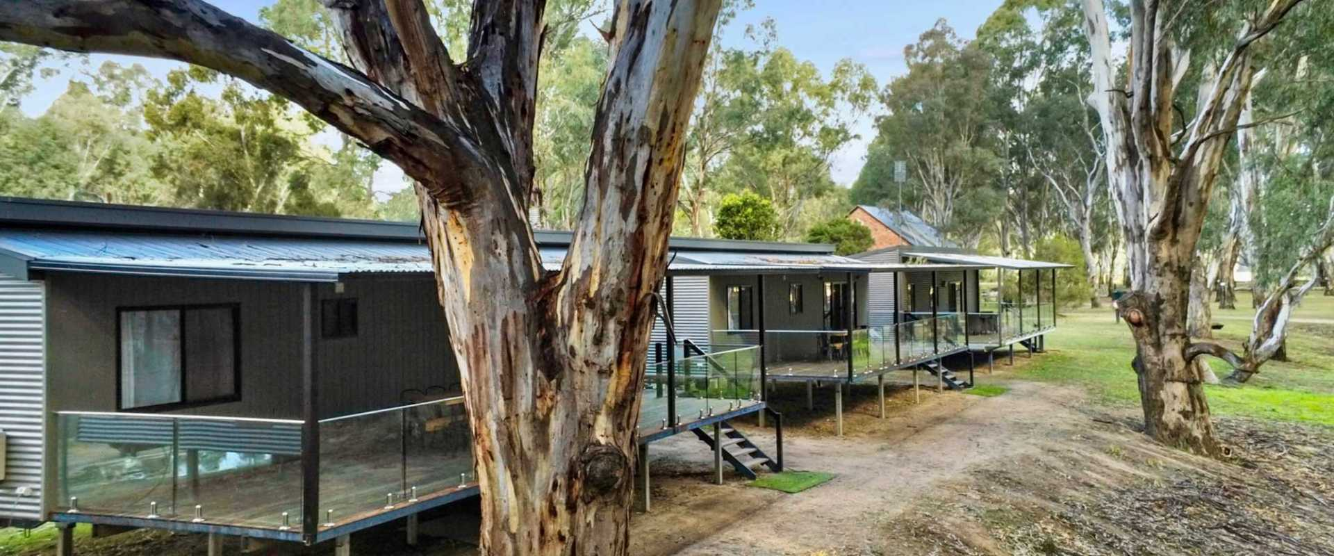 Kui Parks, Bushlands on the Murray,  Tocumwal NSW