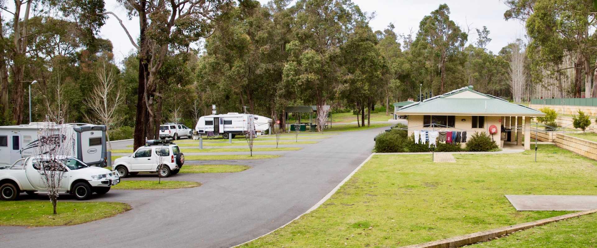 Kui Parks, Manjimup Central Tourist Park, Manjimup WA