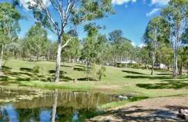 Kui Parks, Barambah Bush Caravan and Camping Park, Murgon, Lake