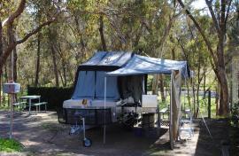 Kui Parks, Maldon Caravan Park, Sites
