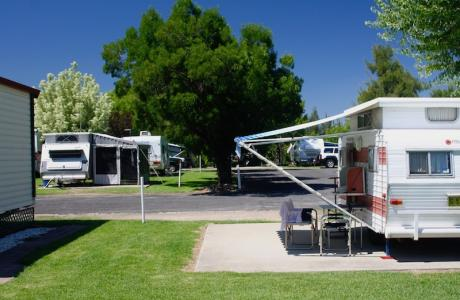 Kui Parks, Inverell Caravan Park, Sites