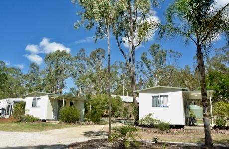 Kui Parks, Barambah Bush Caravan and Camping Park, Murgon, Cabins