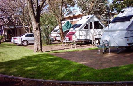 Kui Parks, Cowes, Beach Park Tourist Caravan Park, Sites