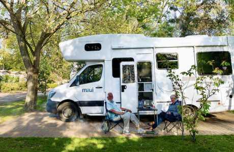Kui Parks, Cowes, Beach Park Tourist Caravan Park Sites