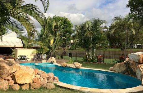 Kui Parks, Bush Oasis Caravan Park, Townsville, Pool
