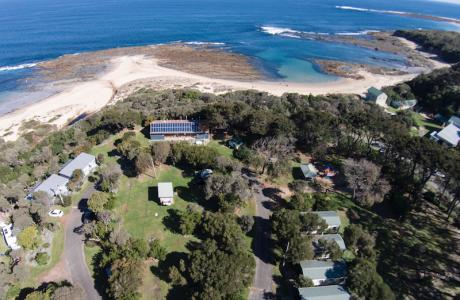 Kui Parks, Cape Paterson Caravan Park, Aerial View