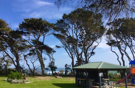 Kui Parks, Cape Paterson Caravan Park, BBQ
