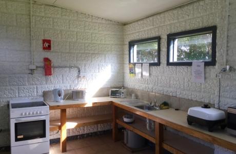 Kui Parks, Cape Paterson Caravan Park, Camp Kitchen
