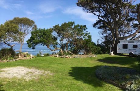 Kui Parks, Cape Paterson Caravan Park, Sites