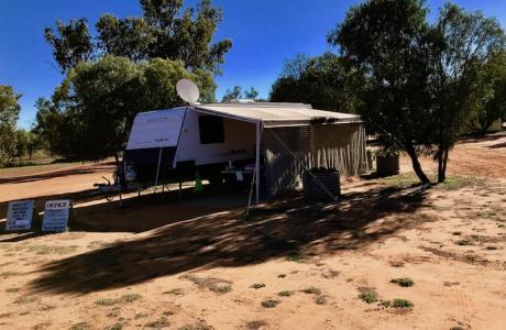 Kui Parks, Charleville Bush Caravan Park, Office