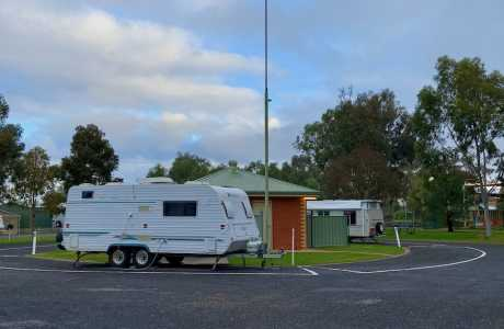 kui parks, charlton, travellers rest, caravan park, ensuite sites