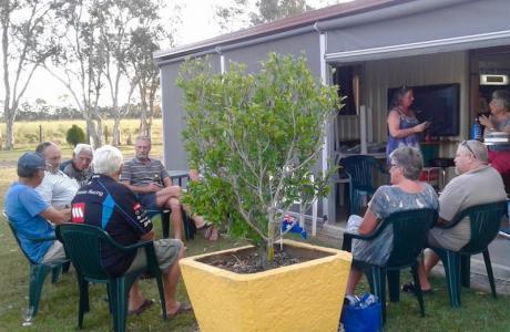Kui Parks, Cheery Nomad RV Park & Farmstay, Maryborough, Happy Hour