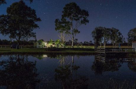 Kui Parks, Cheery Nomad RV Park & Farmstay, Maryborough, Night View