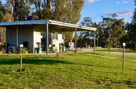 Kui Parks, Cocobend Caravan and Camping Grounds, Moama, Office