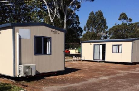 Kui Parks, Collie River Valley Tourist Park, Collie, Cabins