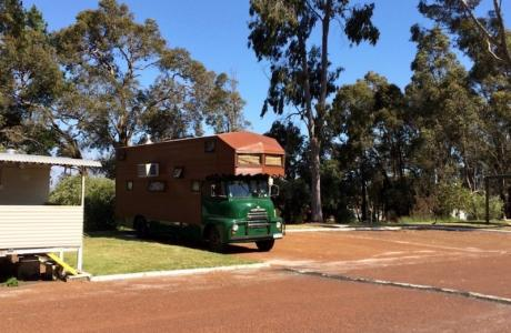 Kui Parks, Collie River Valley Tourist Park, Collie, Park