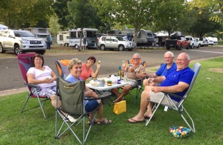 Kui Parks, Cootamundra Caravan Park, Happy Hour
