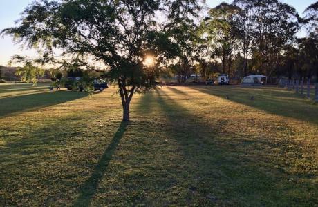 Kui Parks, Crows Nest Caravan Park, Self Contained Sites