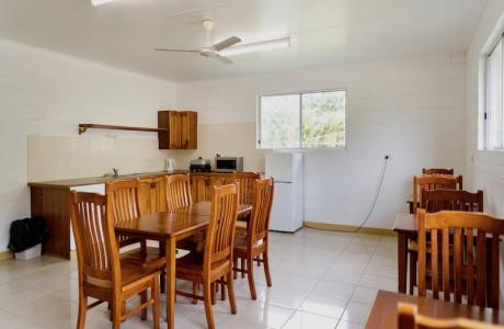 Kui Parks, Crystal Creek Caravan Park, Mutarnee, Camp Kitchen