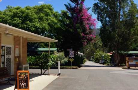Kui Parks, Diamond Waters Caravan Park, Dunbogan, Office