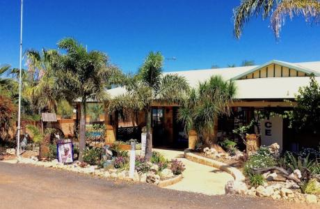Kui Parks, Geraldton, Drummond Cove Holiday Park, Reception