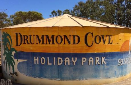 Kui Parks, Geraldton, Drummond Cove Holiday Park, Signage