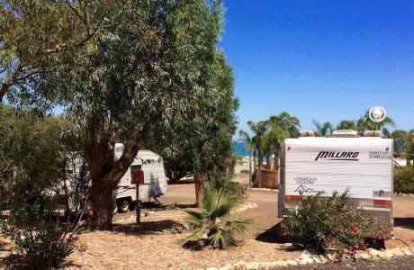 Kui Parks, Geraldton, Drummond Cove Holiday Park, Sites
