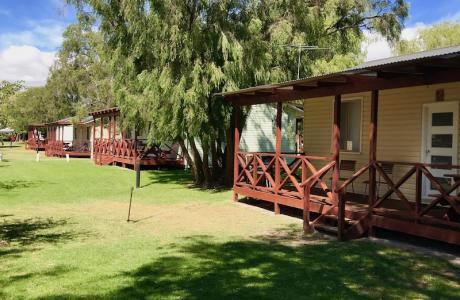 Kui Parks, Four Seasons Holiday Park, Busselton, Cabins