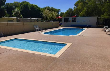 Kui Parks, Four Seasons Holiday Park, Busselton, Pool