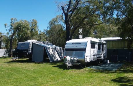 Kui Parks, Four Seasons Holiday Park, Busselton, Sites