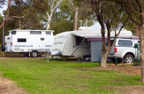 Kui Parks, Gawler Gateway Tourist Park, Sites
