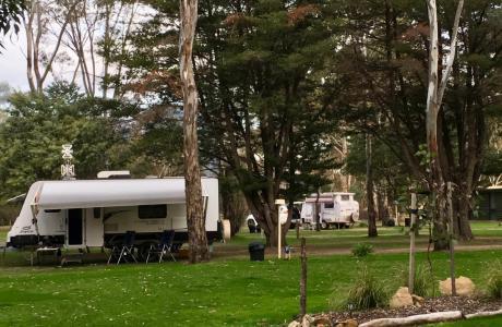 Grampians, Kui Parks, Caravan Park, Caravan Sites