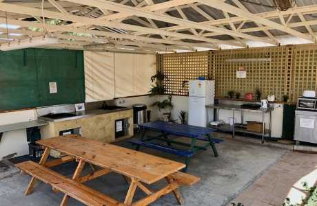 Kui Parks, Green Head Caravan Park, Camp Kitchen, Green Head WA