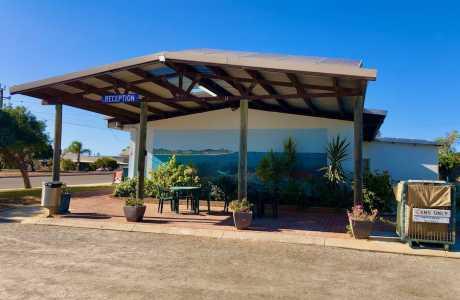 Kui Parks, Green Head Caravan Park, Reception, Green Head WA