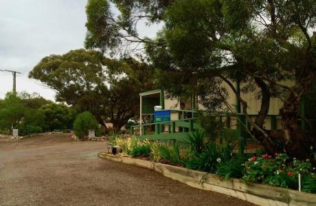 Kui Parks, Harbour View Caravan Park, Office
