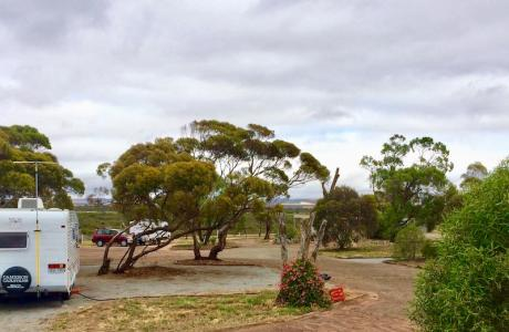 Kui Parks, Harbour View Caravan Park, Sites