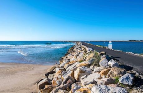Kui Parks, Iluka, Clarence Head Caravan Park, Beach