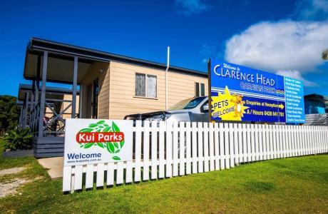 Kui Parks, Iluka, Clarence Head Caravan Park, Cabins