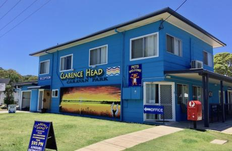 Kui Parks, Iluka, Clarence Head Caravan Park, Office