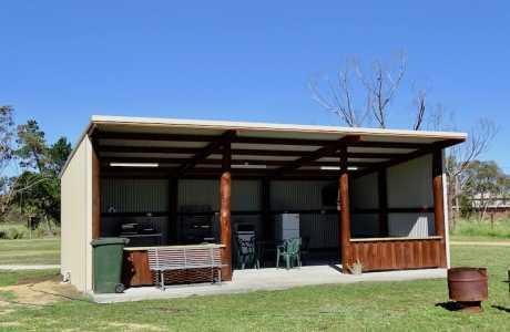 Kui Parks, Katanning Caravan Park, Campo Kitchen