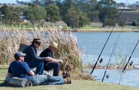 Kui Parks, Kingston on Murray Caravan Park, Fishing