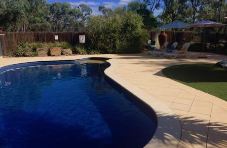 Kui Parks, Kingston on Murray Caravan Park, Pool
