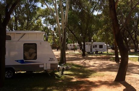 Kui Parks, Kingston on Murray Caravan Park, Sites