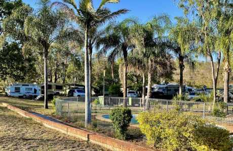 Kui Parks, Mount Morgan Motel & Van Park, Park