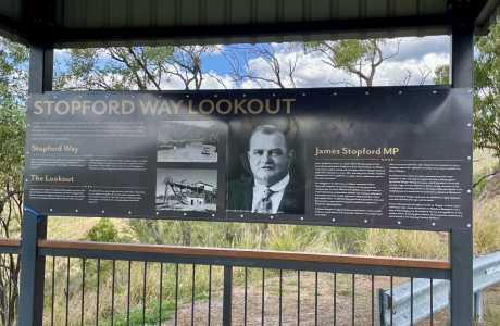 Kui Parks, Mount Morgan Motel & Van Park, Stopford Lookout