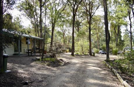 Kui Parks, Nicholson, Bushland Cabin & Caravan Park, Park