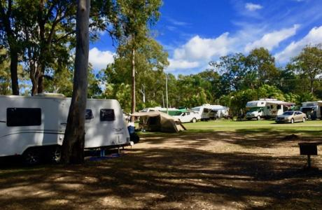 Kui Parks, Maaroom Caravan Park, Sites